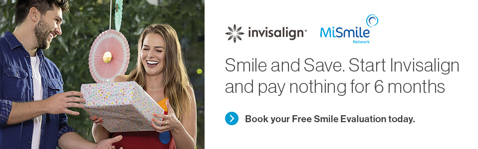 Invisalign Pay Nothing for 6 Months